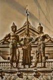 Trzy królewiątka zabytek, Chiang Mai Obraz Stock