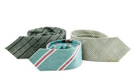 Trzy krawata Fotografia Stock