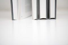 trzy książki Fotografia Royalty Free