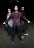 Trzy młodzi ludzie Zdjęcia Stock