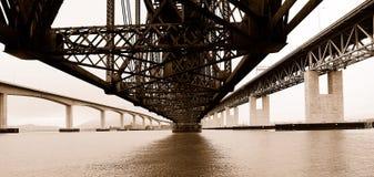 trzy mosty, Zdjęcia Stock