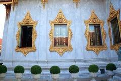 Trzy okno świątynia Fotografia Royalty Free