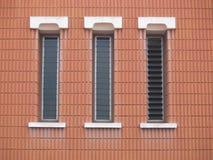 Trzy okno Zdjęcie Royalty Free