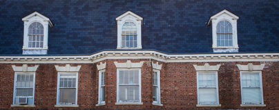Trzy okno i dormers Obrazy Royalty Free