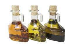 trzy olejów Fotografia Royalty Free