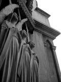 Trzy one Modlą się anioła Obrazy Royalty Free