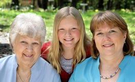 trzy płci Fotografia Royalty Free