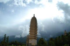 trzy pagody fotografia royalty free