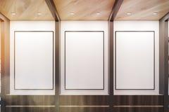 Trzy plakata ilustracja wektor