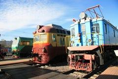 Trzy pociągu Obraz Stock