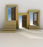 Trzy różnych twój życie Obrazy Stock
