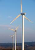 Trzy silnik wiatrowy Obrazy Stock