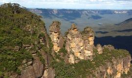 Trzy siostry falezy w Australia Obraz Royalty Free