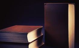 Trzy Stara książka zdjęcie stock