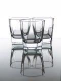 trzy szklanki Zdjęcia Stock