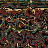Trzy tła z marmoryzacją kiedy było tła może pouczać tekstury marmurem użyć plusk farby Kolorowy fluid Ja może używać dla plakata, royalty ilustracja