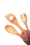 Trzy tradycyjnego nieociosanego kuchennego naczynia Obrazy Stock