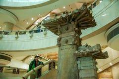 Trzy - wąwóz Dziejowy Hall w Chongqing Trzy wąwozu Muzealnego Obraz Royalty Free
