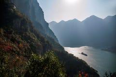 Trzy wąwozu jangcy doliny wąwóz Obraz Royalty Free