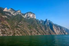 Trzy wąwozu jangcy doliny wąwóz Fotografia Royalty Free