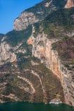 Trzy wąwozu jangcy doliny wąwóz Zdjęcie Stock
