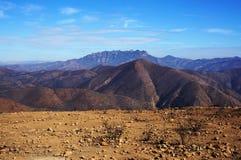 Trzy warstwy góry Zdjęcia Stock