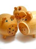 trzy świnie Zdjęcie Stock