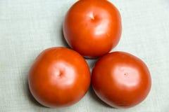 Trzy wołowina pomidoru Zdjęcia Stock
