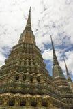Trzy wyśmienita pagoda Zdjęcie Royalty Free