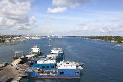 Trzy wyspy karaibskiej Zdjęcie Royalty Free