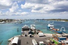 Trzy wyspy w Bahamas Obraz Stock