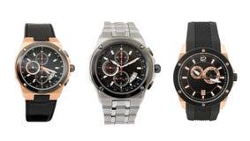 trzy zegarka Obraz Stock