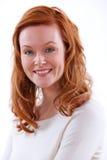 trzydzieści atrakcyjna uśmiechnięta kobieta Zdjęcia Royalty Free
