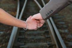 trzymać ręce Zdjęcie Stock