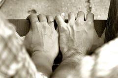trzymać ręce Fotografia Stock
