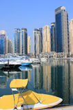 trzymać na dystans Dubai yaght zdjęcie stock