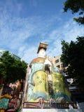 trzymać na dystans Hong kong odparcia statua Obrazy Stock