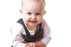 trzymająca dziecko kamera ja target1454_0_ trzymać Obrazy Stock