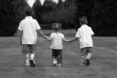 trzymaj ręce dzieci Obraz Stock