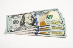 Trzysta dolarów usa Obrazy Stock