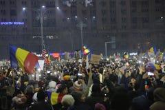 Trzysta tysiąc ludzie protestów Obraz Stock