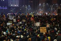 Trzysta tysiąc ludzie protestów Obrazy Stock