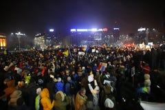 Trzysta tysiąc ludzie protestów Zdjęcia Stock