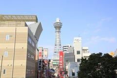 Tsūtenkaku  in  The New World  , Osaka   ,Japan Stock Images