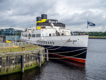 TS βασίλισσα Mary, Γλασκώβη Στοκ Φωτογραφίες