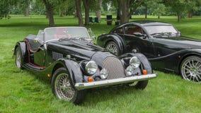 2003 TS de Morgan, 2010 Morgan Aero Max, projeto de EyesOn, MI Fotos de Stock Royalty Free