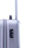 TSA在手提箱的旅行锁 免版税库存照片