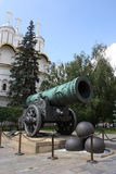 Tsaar-Pushka in het Kremlin Stock Fotografie