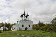 Tsaarconstantine kerk in suzdal, Russische federatie Royalty-vrije Stock Afbeeldingen