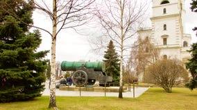 Tsaarkanon, in het Kremlin royalty-vrije stock foto's